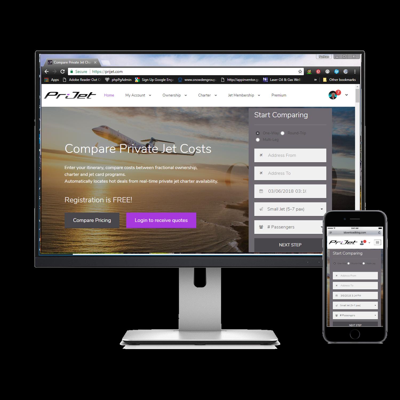 PriJet Custom Application Design