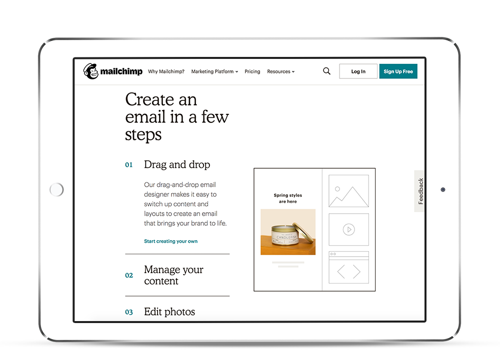 boston mailchimp integration company