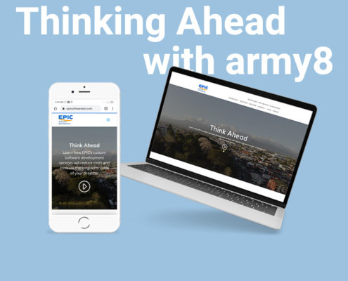 thinking ahead with army8